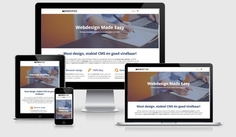responsive webdesign Tilburg