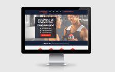 sitepepper webdesign voorbeeld fitness