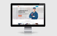webdesign voorbeeld loodgieter