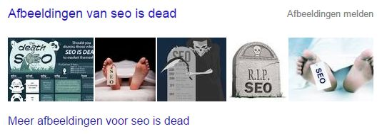 SEO is dood