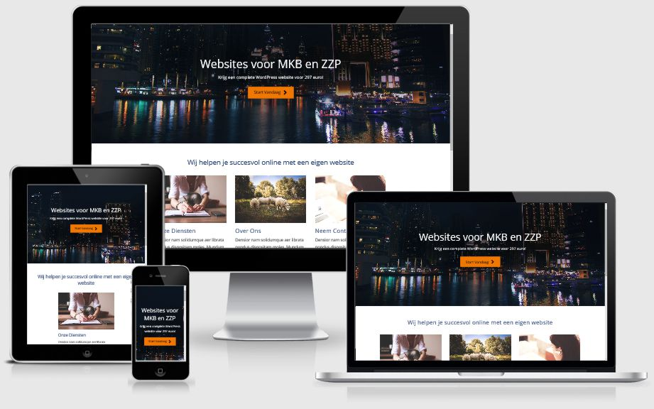 SitePepper website design elementen