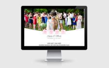 webdesign voorbeeld trouwdag