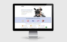 Voorbeeld webdesign zakelijke dienstverlening
